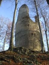 Trosky hlavní věže